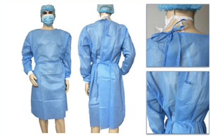 Disposable Isolation Gown logo
