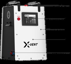 X-VENT logo
