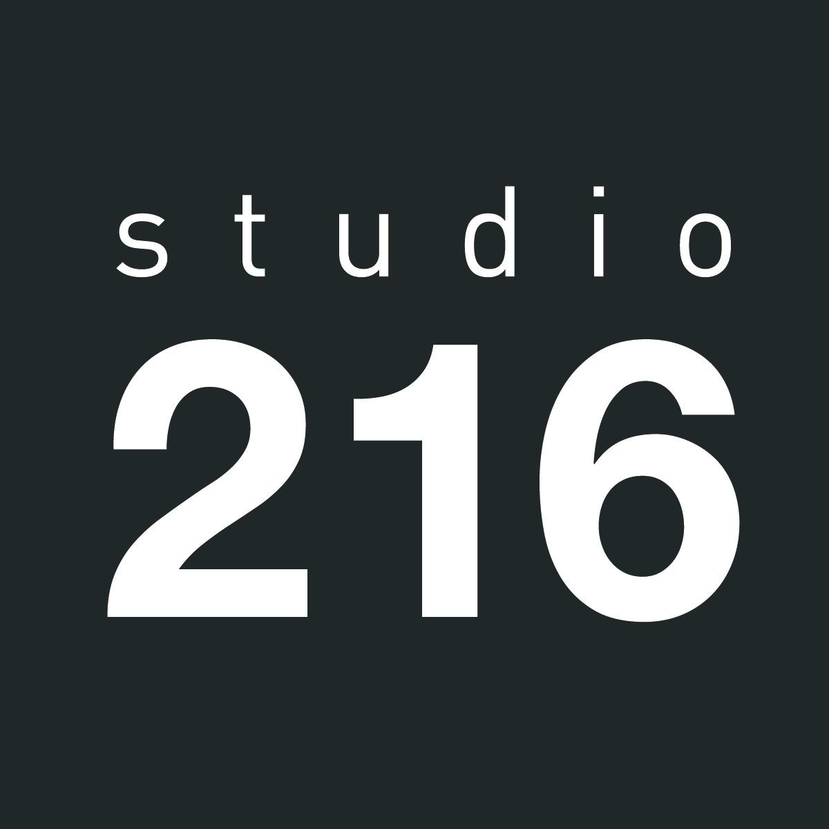 STUDIO 216 logo